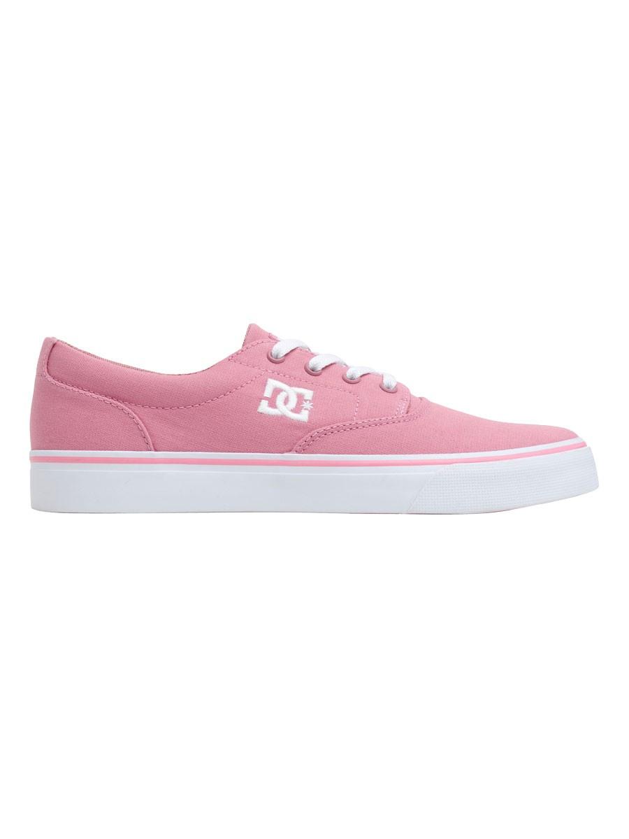 Tênis DC Shoes New Flash II TX Pink / White