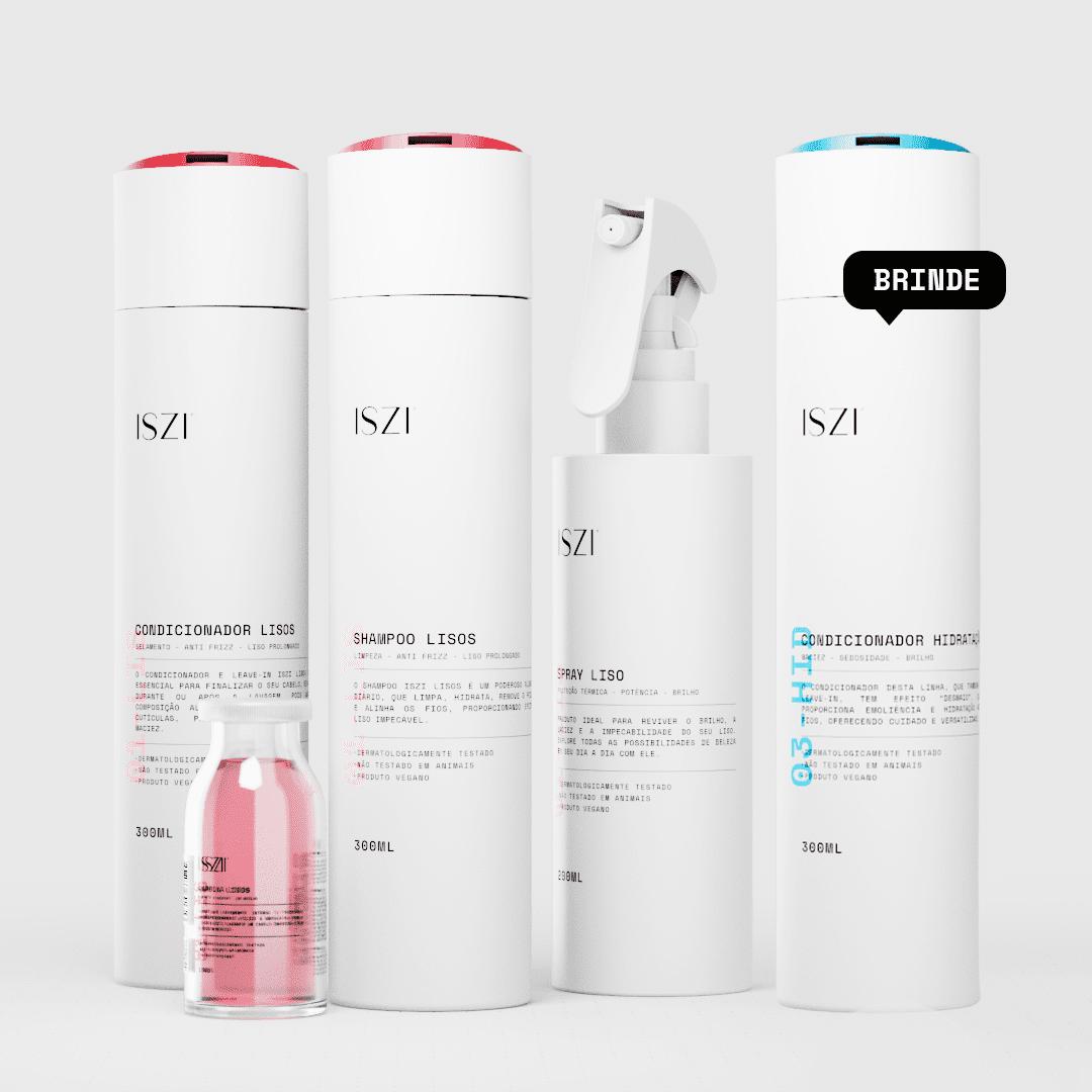 Kit Liso + Condicionador Hidratação