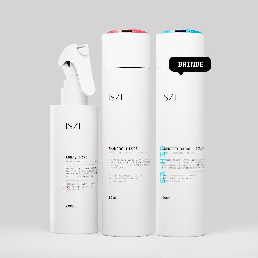 Kit Liso Essencial + Condicionador Hidratação