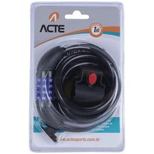 Cadeado com Segredo para Bicicleta e/ou Moto - A16 - Acte Sports