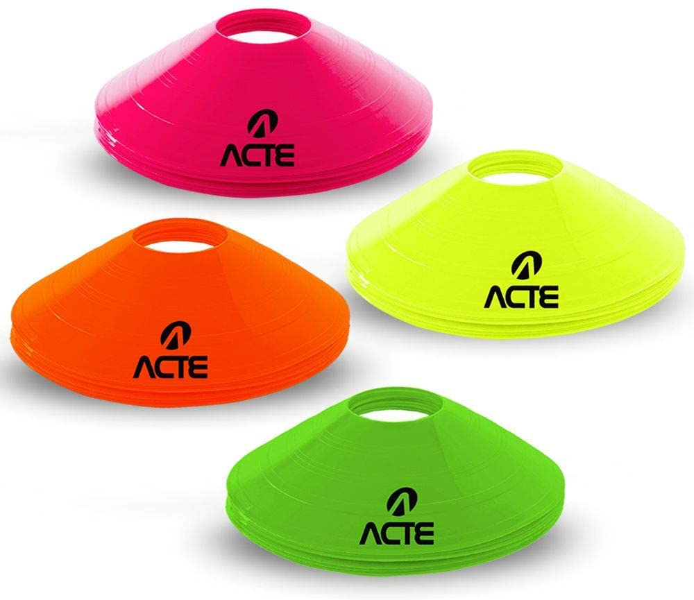 Cones Chapéu Chinês 20cm 12 Peças - T74 - Acte Sports