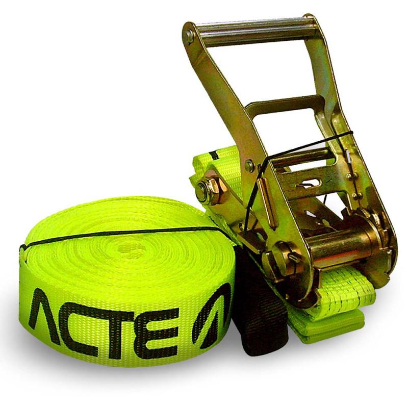 Slackline 10 Metros - Cor Verde - T122 -  Acte Sports