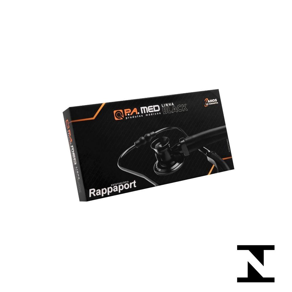 ESTETOSCOPIO  RAPPAPORT BLACK CINZA EST520 BIC