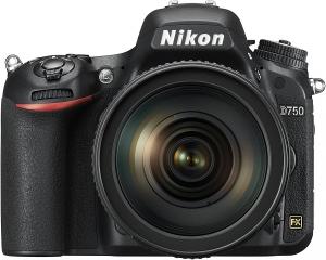 Câmera Nikon D750 com Lente 24-120mm f/4G ED VR