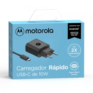 Carregador De Parede Motorola 10W