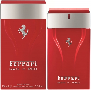 Cavallino Man In Red Edt 100 Ml, Ferrari, Sem Cor