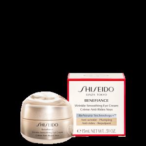 Creme para Área dos Olhos Shiseido Benefiance Wrinkle Smoothing Eye - 15ml