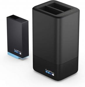 GoPro Kit com Carregador de Bateria Dupla + 1 Bateria GoPro MAX