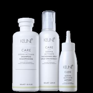 Kit Keune Derma Activate Trio (3 produtos)