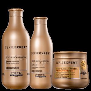 Kit L'Oréal Professionnel Serie Expert Absolut Repair Gold Quinoa + Protein Trio