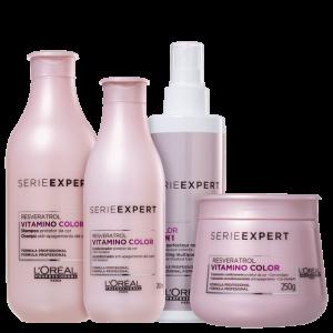 L?Oréal Professionnel Serie Expert Vitamino Color Resveratrol Full (4 Produtos)