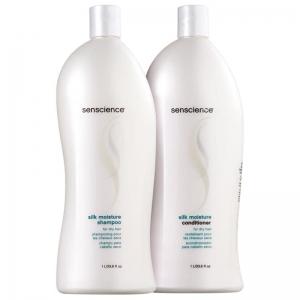 Kit Senscience Silk Moisture Salon Duo (2 Produtos)