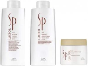 Shampoo Condicionador e Máscara Wella SP Luxe Oil