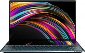 Laptop ASUS ZenBook Pro Duo UX581, tela sensível ao toque NanoEdge 4K UHD de 15,6
