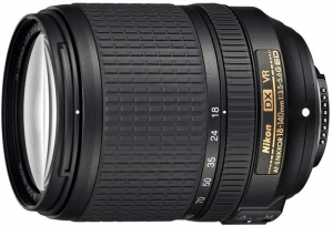 Lente DX 18-140mm F/3.5-5.6G ED VR, Nikon 123506