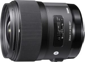 Lente Sigma 35mm 1.4 Art Nikon