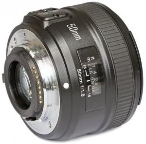 Lente Yongnuo 50mm f/1.8 AF-S Nikon
