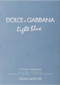 Light Blue Pour Homme Dolce & Gabbana Eau de Toilette