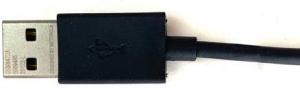 Motorola MO-SKN6473AIBI - Cabo de Dados USB/USB-C, 1 Metro, Preto - Embalagem Econômica