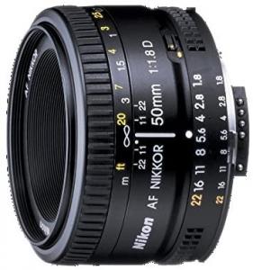 Nikon Nikkor Lente para Nikon F - 50mm - F/1.8