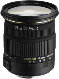 Objetiva Sigma 17-50 f/2.8 Ex Dc Os Hsm Nikon
