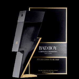 Perfume Bad Boy Carolina Herrera Masculino Eau de Toilette 50ml