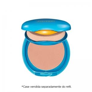 Protetor Solar Facial Compacto FPS 35 Refil Compact Foundation Medium Ochre