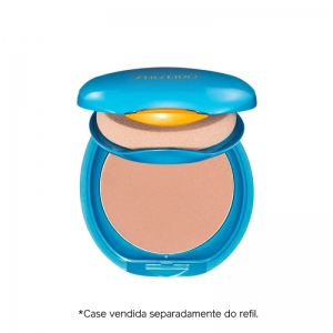 Protetor Solar Facial Compacto FPS 35 Refil Shiseido UV Protective Compact Foundation Medium Beige
