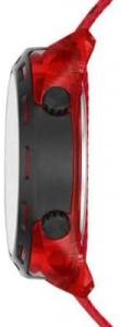 Relógio DIESEL Crusher masculino nylon vermelho DZ1916/8RN