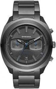 Relógio Diesel Masculino Grafite Dz4510/1cn Analógico 5 Atm Cristal Mineral Tamanho Grande