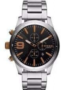Relógio Diesel Masculino Ref: Dz4457/1pn Prateado