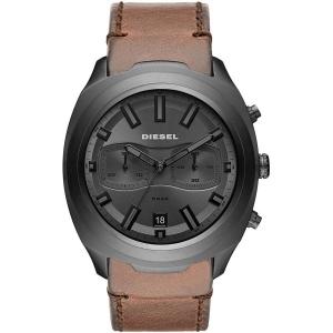Relógio Diesel Masculino Ref: Dz4491/0mn Big Case Cronógrafo Grafite