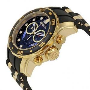 Relógio INVICTA Original Pro Diver 6983 Banhado a Ouro 18kt