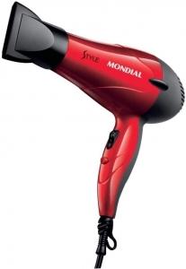 Secador de Cabelos Style 220V,Vermelho, Mondial - SC-11