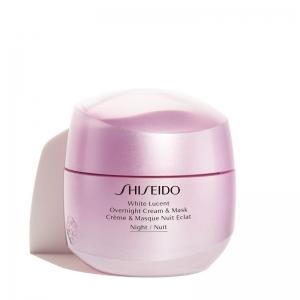 Shiseido White Lucent Overnight Mask & Cream - Creme Hidratante Facial e Máscara Noturna Clareadora 75ml