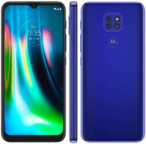 Smartphone Moto G9 Play Azul Safira NFC