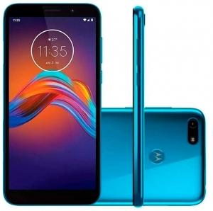 Smartphone Motorola E6 Play, 5.5, 32gb, Android 9.0, Dual Chip, Câmera 13mp, Royal