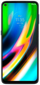 Smartphone Motorola XT2087 Moto G9 Plus Azul Índigo128GB Tela 6.8