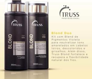 Truss Specific Duo Kit Blond Shampoo (300ml) e Condicionador (300ml)