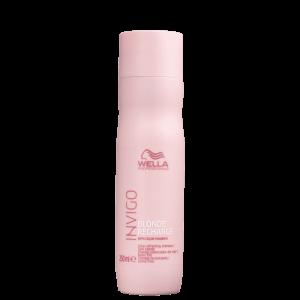 Wella Professionals Invigo Blonde Recharge - Shampoo Desamarelador 250ml
