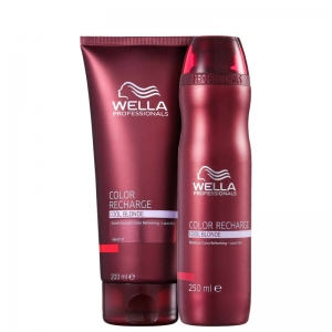 Wella Professionals Kit Color Recharge Cool Blonde - (2 Produtos)
