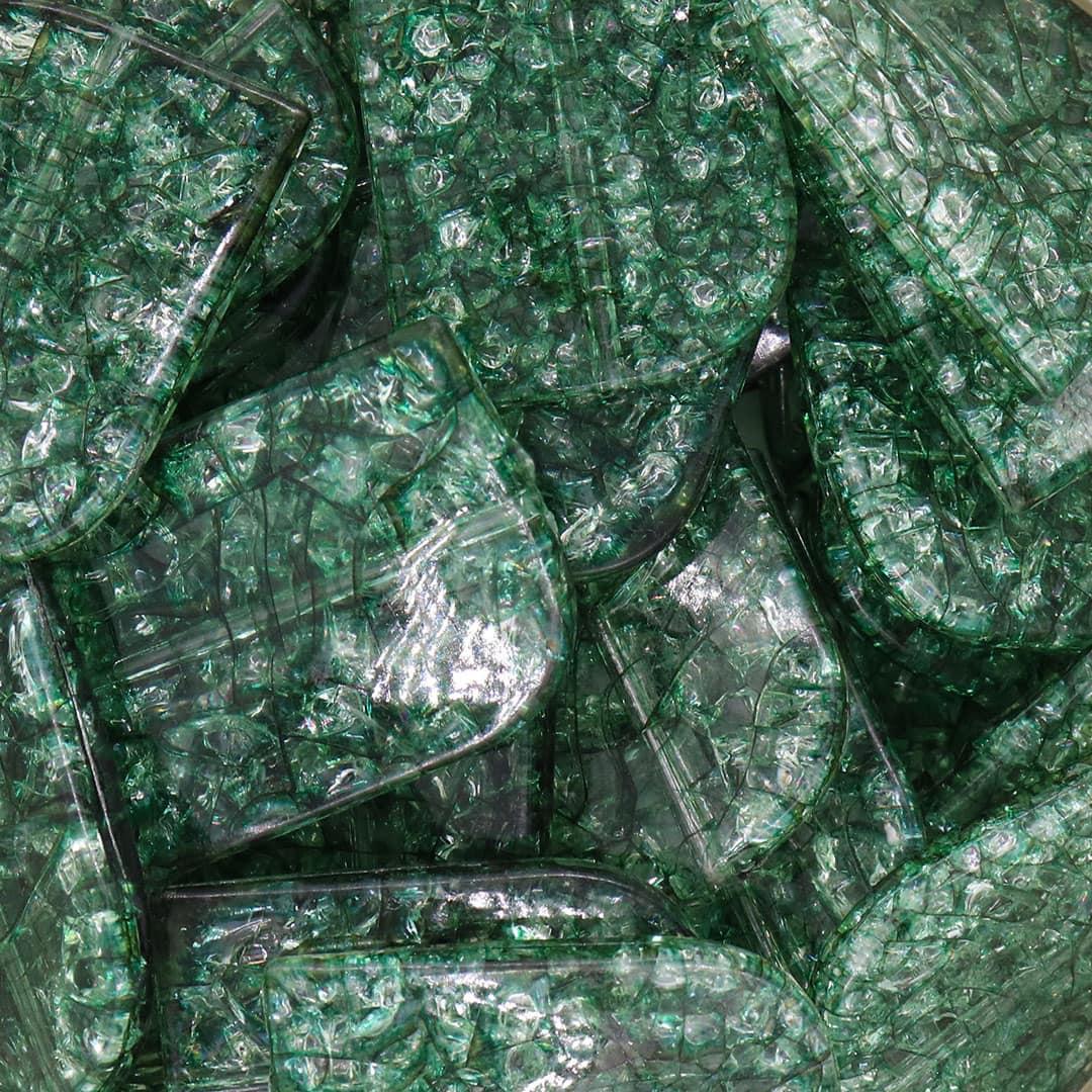 Acrílico Folhas Craqueladas de Esperança - 250grs - SOL018  - ArtStones