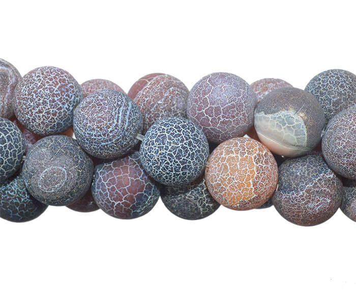 Ágata Craquelada Esferas de 12mm - F030  - ArtStones