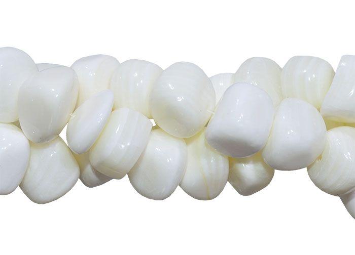 Alabastro Rolado de Ônix Branco - F201  - ArtStones