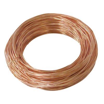 Arame de Cobre Copper Espessura 0.50 Folheado a Ouro Rose  - Metro - AR_142  - ArtStones