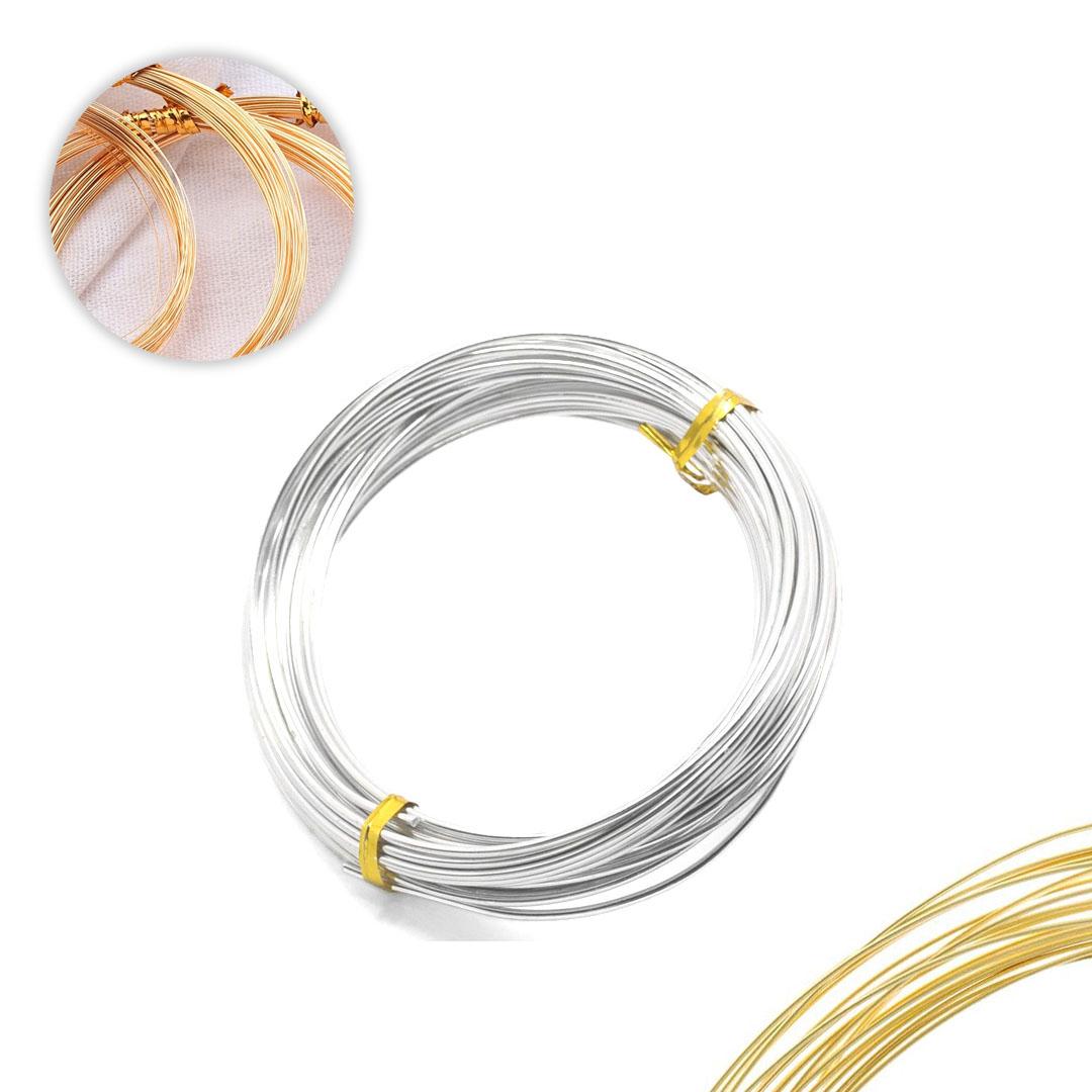 Arame de Cobre Copper Espessura 0.40 Folheado - Metro - AR001  - ArtStones
