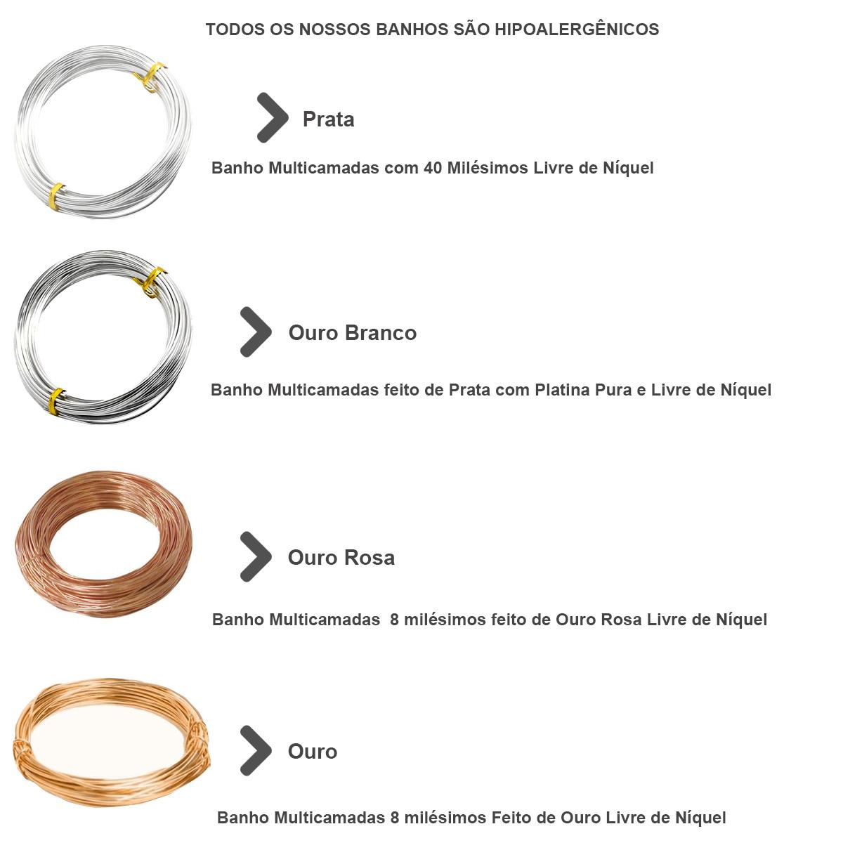 Arame de Cobre Copper Espessura 0.50mm Folheado - Metro - AR003  - ArtStones