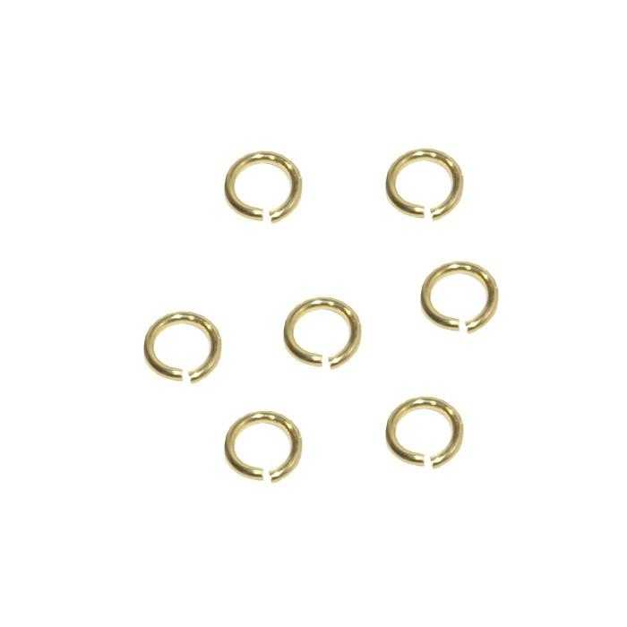 Argola Aberta 4.5x0.80mm Folheada 02 Gramas - FO259  - ArtStones