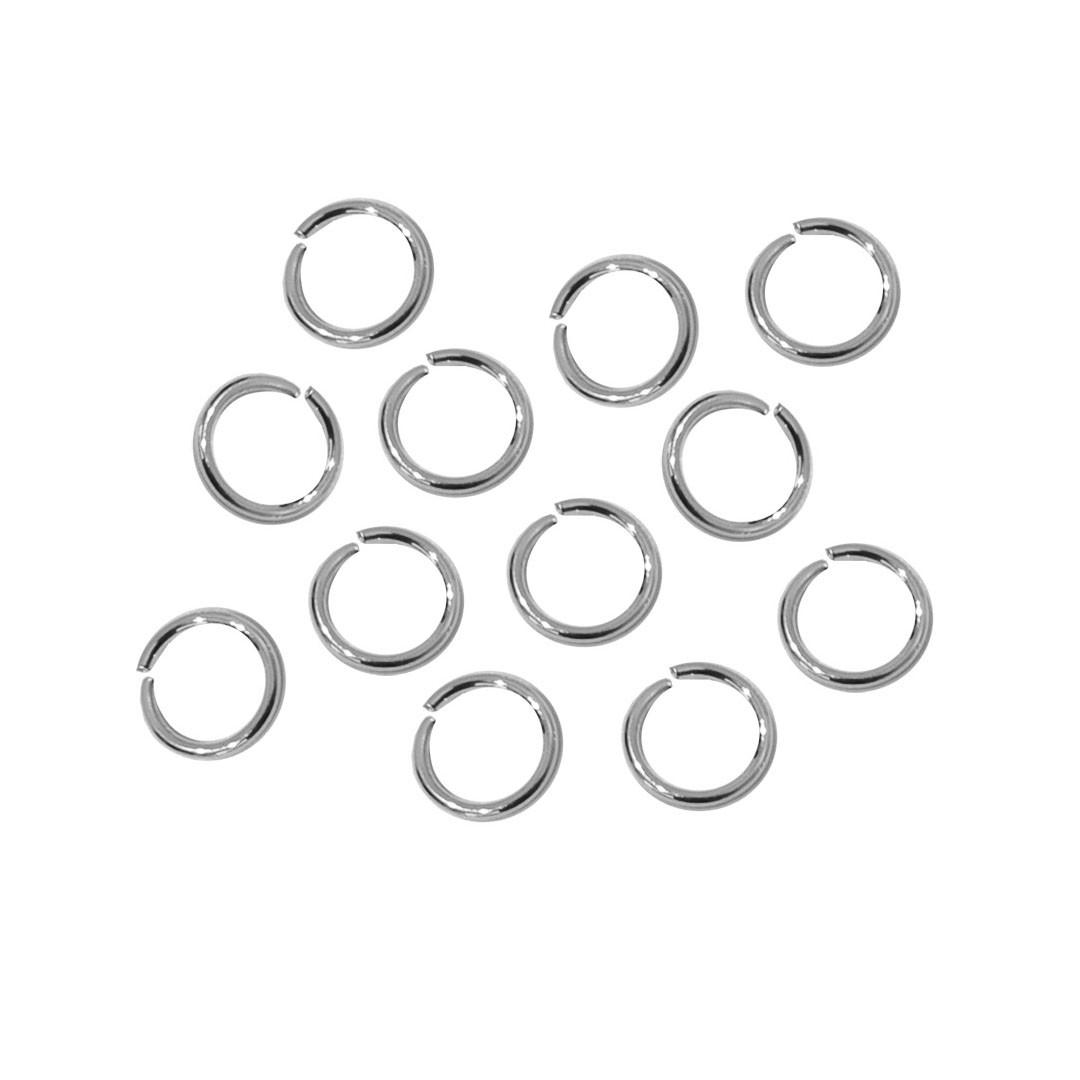 Argola Aberta Niquel 10x1mm  - 10 gramas - AM215  - ArtStones