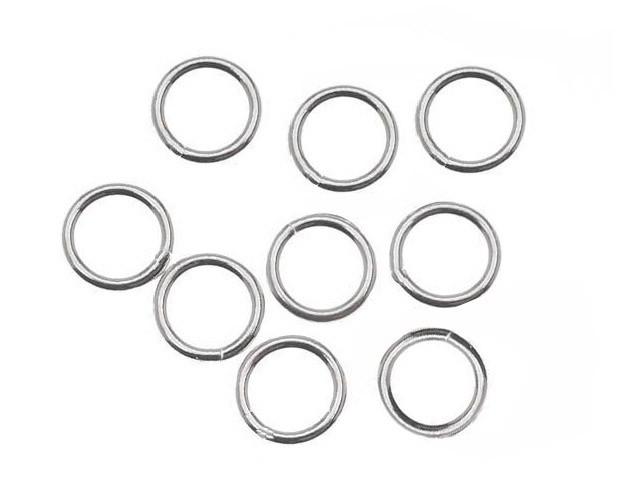 Argola em Prata 950 Fechada 6x0.60 - 10 Peças - PR027  - ArtStones
